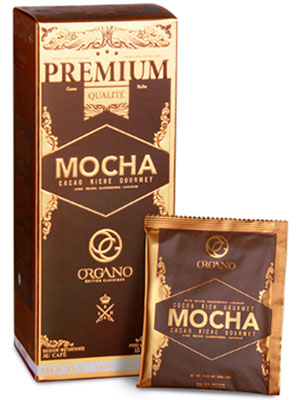 cafe mocha organo gold