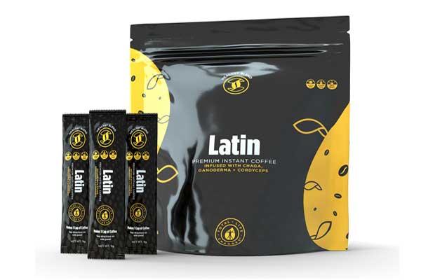 latin style coffee