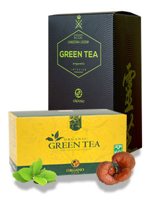 organo gold green tea