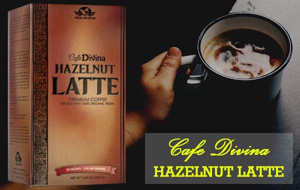cafe divina hazelnut latte