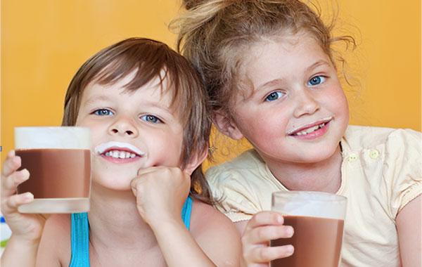 ganoderma chocolate para niños