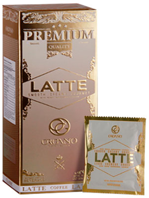 gourmet cafe latte organo gold